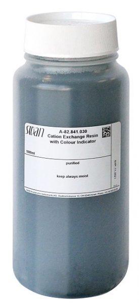 Cation exchanger - bottle; 1 litre, full