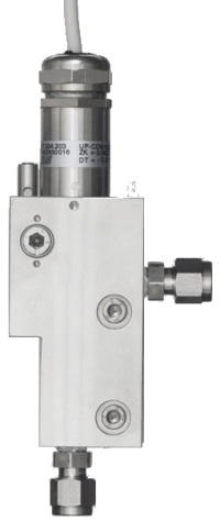 Flow cell B-Flow UP-CON with slot-lock