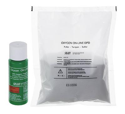 Reagent set Oxycon Online DPD, 8 sets