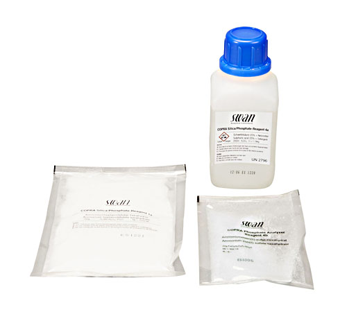 Reagent set for COPRA Phosphate, for 6 months (incl. sulfuric acid)